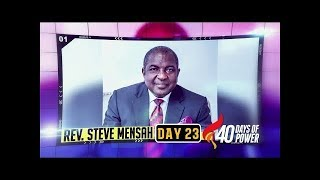 Day 23 - Rev. Steve Mensah | ENCOUNTER WITH YOUR  PROPHETIC WORD
