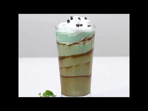 Mint Chocolate Chips milkshake
