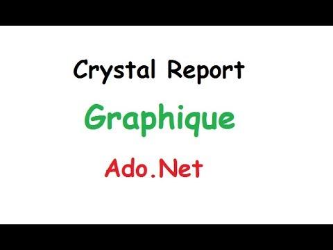 الحلقة 25 : Graphique - crystal report - ado.net