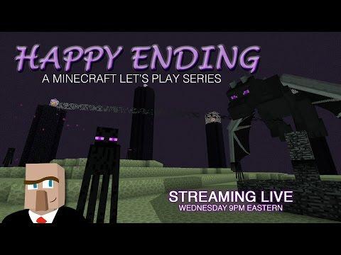Minecraft HAPPY ENDING #15 Live Stream -- The Iron Farm's Facelift