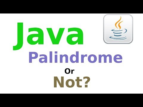 Java code to check whether the number is PALINDROME or not (KALI LINUX) - 2017