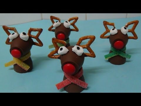 rudolph chocolate cups