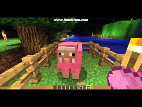 How to make different color sheep in Minecraft