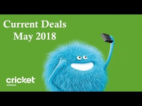 Cricket Wireless - Current Online Deals For May 2018!