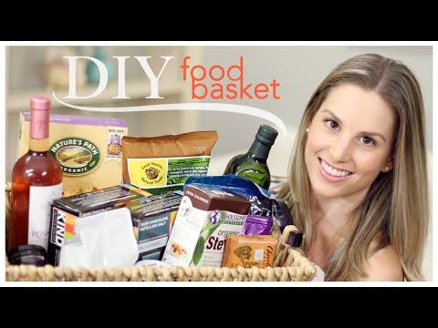 DIY Food Basket (Birthday Gift)
