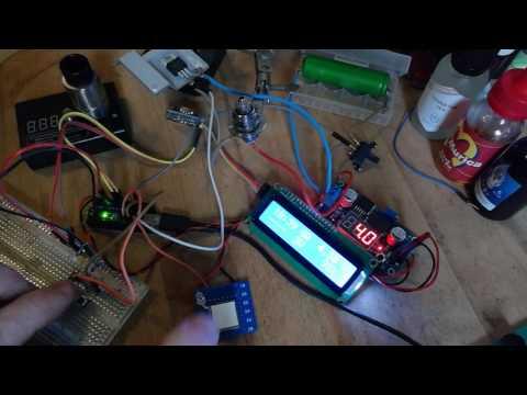 Arduino Nano Dampfer Vape Mod  PWM I2C Clock LCD