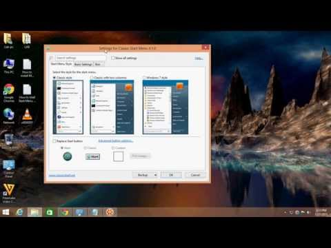 How to Istall Start Menu in Windows 8,8 1