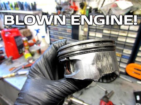 Why A Snowblower Engine Blew Up & Teardown!