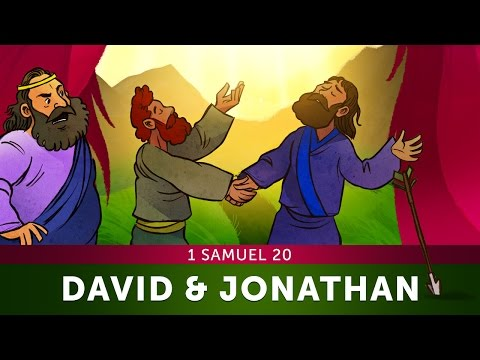 Sunday School Lesson for Children - 1 Samuel 20 - David and Jonathan - Bible Stories for VBS