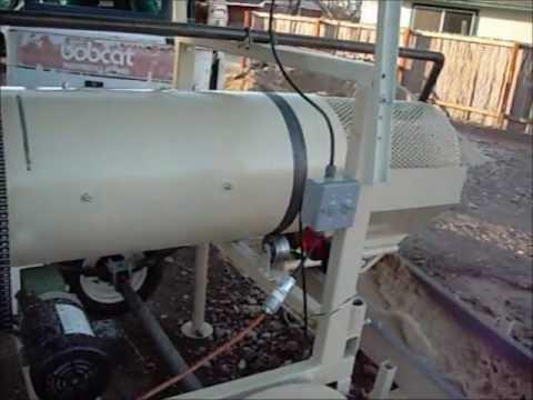 Trommel wash plant 10 Yards Per Hour J.Farmer Mining