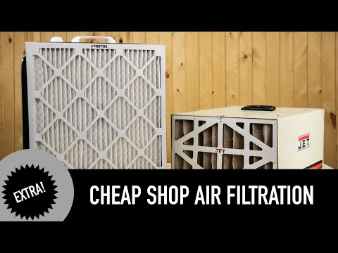 Cheap Air Filtration for Your Shop
