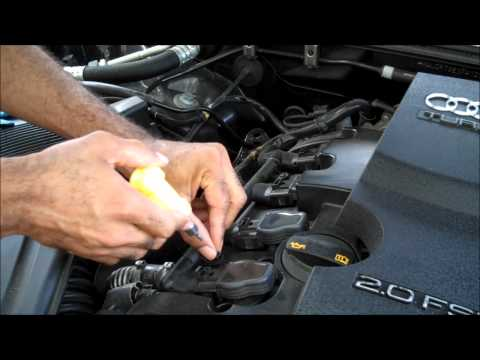 Changing Audi Ignition Coils