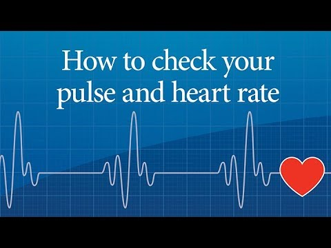 How to check your pulse and heart rate