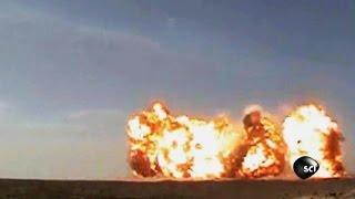 100 Ton Explosion