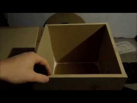 HOW TO MAKE A EASY SUBWOOFER BOX