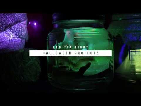 LED Tea Light Halloween Projects