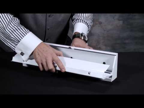 TRUaire Baseboard Diffuser Install