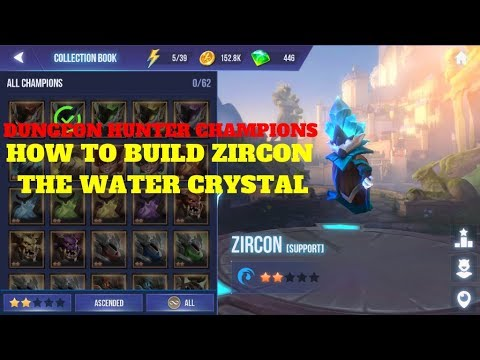 Dungeon Hunter Champions: How to Build the Water Crystal Zircon