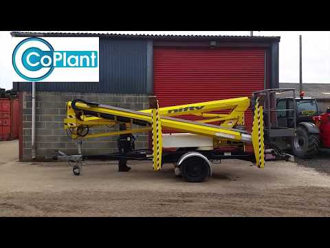 Demonstration of Traction Drive on Niftylift 170HDET Cherry Picker Access Platform
