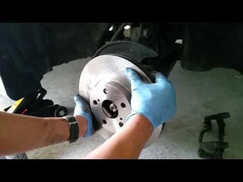 Brake rotor replacement 2009-10 toyota corolla