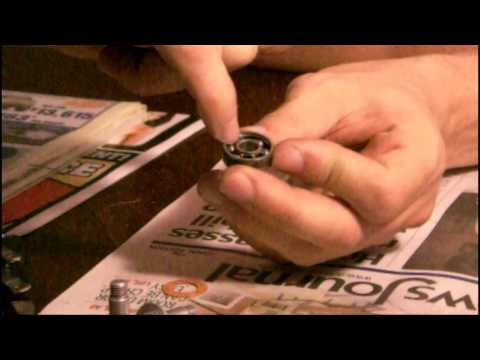 Cleaning ILQ9 Inline Skate Bearings: Pt 1 - Prep Work