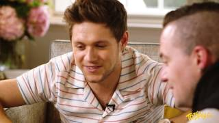 Niall Horan watches a viral video of young kid sending him a message