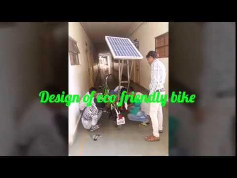 Design of solar e-bike