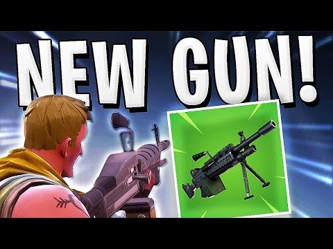 Fortnite - NEW GUN LEAKED LMG HOW TO GET !!