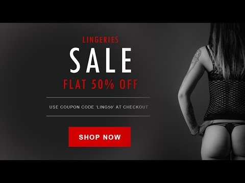 Photoshop Tutorials –Design sale/ deal banner for E-Commerce website