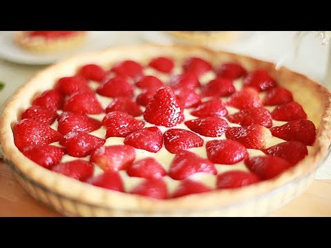 Simply the best strawberry tart