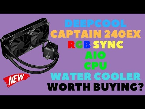 Deepcool Captain 240EX RGB Sync AIO CPU Water Cooler: Worth Buying?