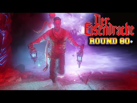 80+ HIGH ROUNDS - BLACK OPS 3 ZOMBIES DER EISENDRACHE GAMEPLAY STRATEGY! (BO3 Zombies)