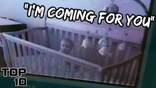 Top 10 Scary Sounds Heard On A Baby Monitor