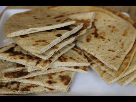 Homemade Greek Style Whole Wheat Pita Flatbread