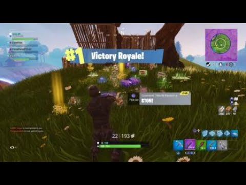 Winning a game of fortnite teams of 20 like a boss