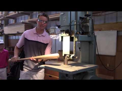 What's inside a Wood Baseball Bat?