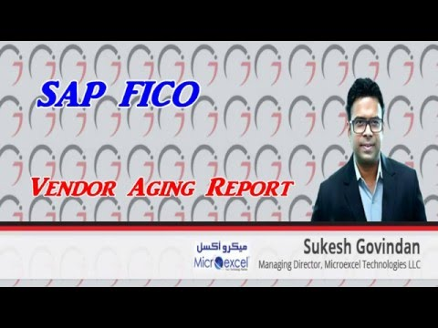 SAP FICO - Vendor Aging Report