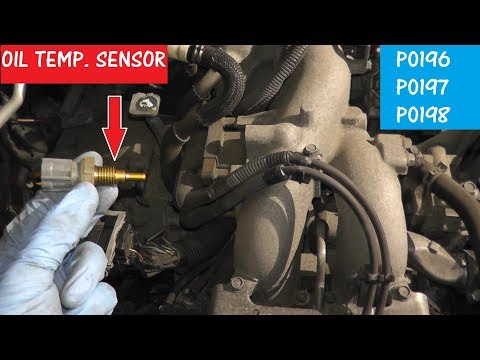 How to Test and Replace an Oil Temperature Sensor P0196 / P0197 / P0198