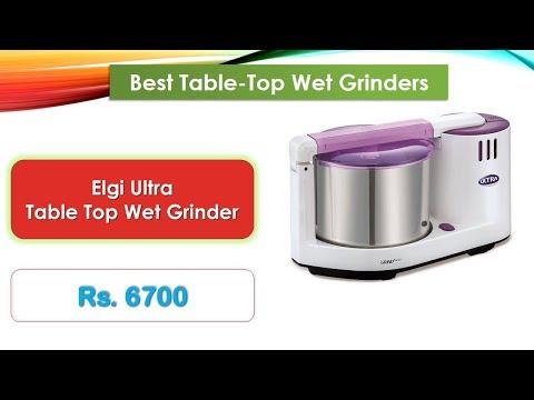 Best Table-Top Wet Grinders in the Indian market