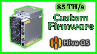 85 TH/s 🔔 Antminer S17 | hiveOS custom firmware overclock !?