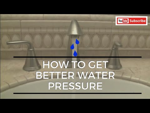 How To Get Better Water Pressure