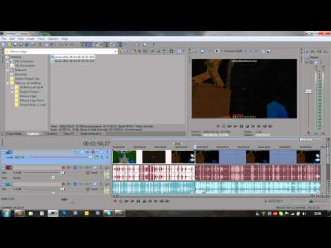How To Split Videos In Sony Vegas