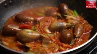 Kathirikai Chops   Brinjal Chops   Eggplant Chops by Chef Damu