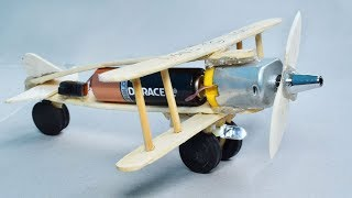 How to make Aeroplane with DC motor