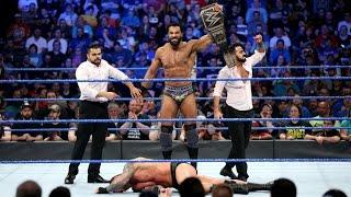 CM PUNK WRESTLING RETURN 2017 Jinder Mahal Wins WWE Championship WWE Backlash 2017