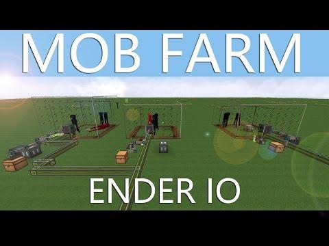 Mob-Farm for ITEMS & XP w/ ENDER IO - Minecraft Tutorial [ENGLISH]