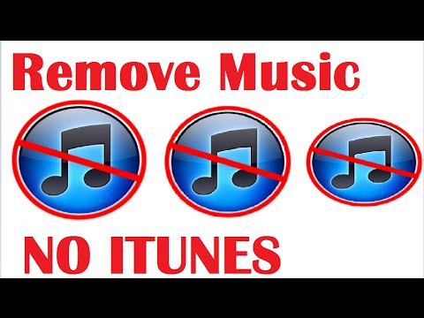 How to Remove Songs from iPod Without iTunes