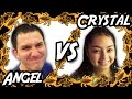 Angel Vs Crystal Bug Appetit Claw Machine Challenge