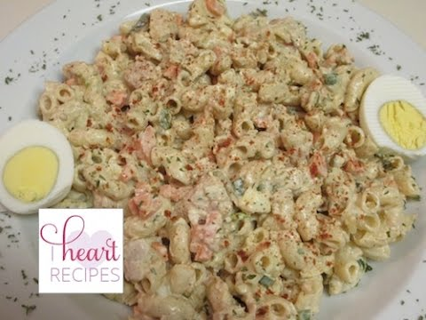 Dinner for two : Tuna Macaroni Pasta Salad | I Heart Recipes