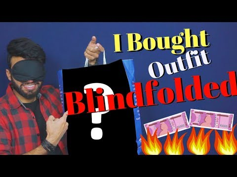I Bought Entire Outfit Blindfolded  | Be Ghent | Rishi Arora |